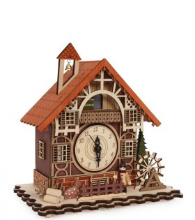 Clock Timbered House by Legler