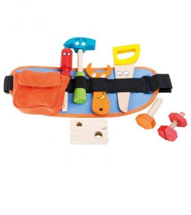 Red Tool Belt for Kids