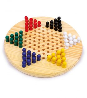 Wooden Parlour Halma Game Set
