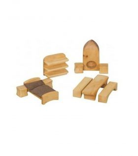 wooden toys for doll house
