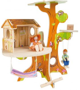 Treehouse With Bending Puppets by Legler