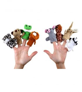 Finger Puppet Animals by Legler