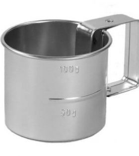 NIC - Flour sifter with handle