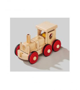 Wooden Combifix Locomotive Toy for Kids