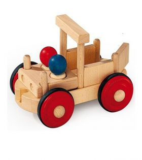 Wooden Combifix Pickup Truck for Kids
